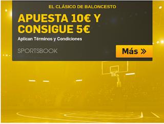 betfair promocion el clasico acb Real Madrid vs Barcelona 12 noviembre