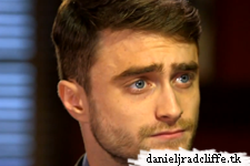 Daniel Radcliffe on CBS This Morning