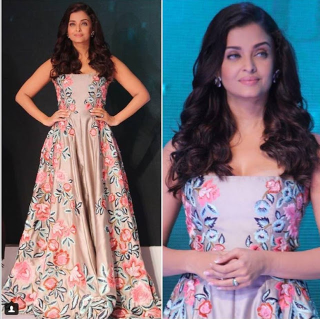 Spotted: Aishwarya Rai Bachan in Aurelle By Leshna Shah Jewellery For outlook Business outstanding Women's Event