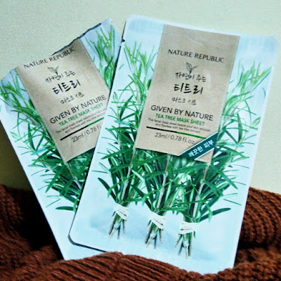 Nature Republic Given by Nature Tea Tree Mask