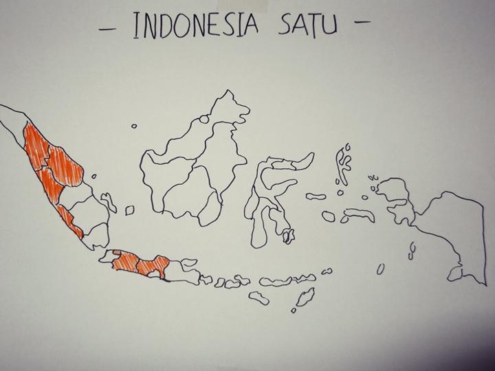 Skala peta merupakan sebuah bagian dari peta yang menunjukkan sebuah ukuran perbandingan. 83 Gambar Peta Indonesia Arsiran Terbaik Gambar Pixabay