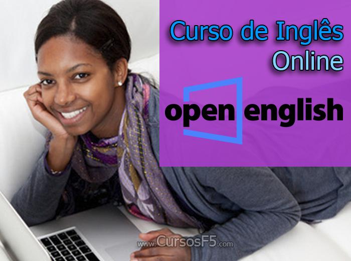 Curso de Inglês Online Open English