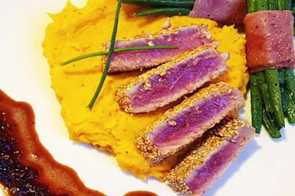 Special sesame tuna