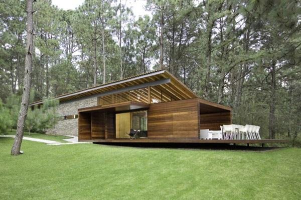 Hogares frescos fin de semana casa de campo en m xico - Fotos de casas de campo de madera ...