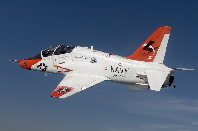 Navy T-45 trainer jet crash