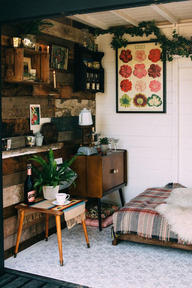 chambre ambiance rustique et bois