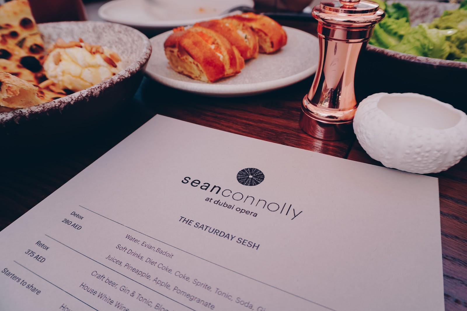 saturday brunch menu sean conolly