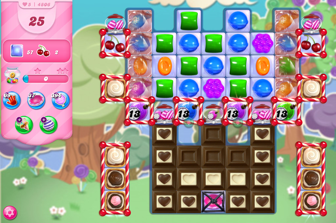 Candy Crush Saga level 4806