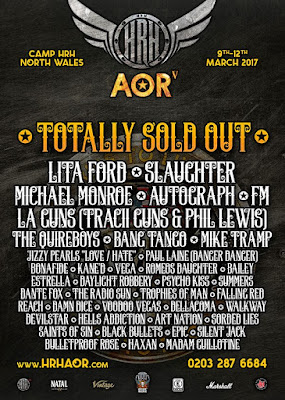 FM at HRH AOR festival March 2017 poster