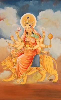 Goddess Kushmanda Worship Navratri Festival