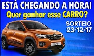Cadastrar Promoção Rádio Nova Onda FM Natal 2017 Carro 0KM Renault Kwid