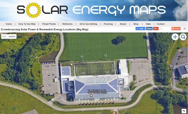 New York Jets Training Center Solar Roof