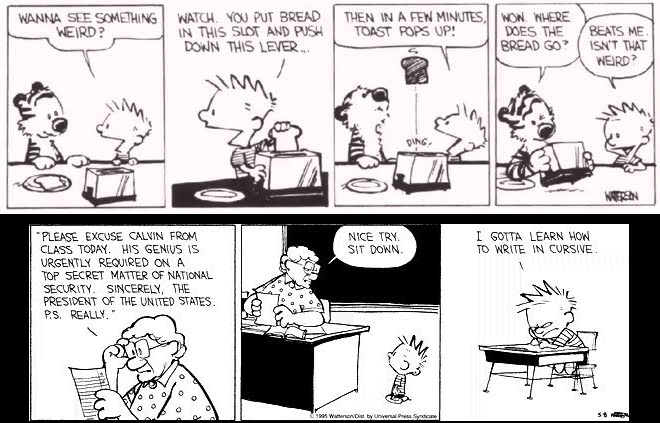 Calvin and Hobbes: