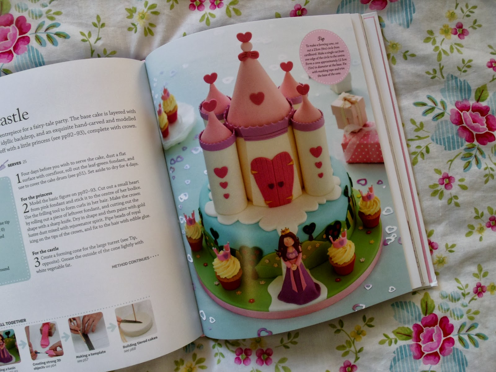 Step by Step Cake Decorating Book & Giveaway ♥ | Victoria ...
