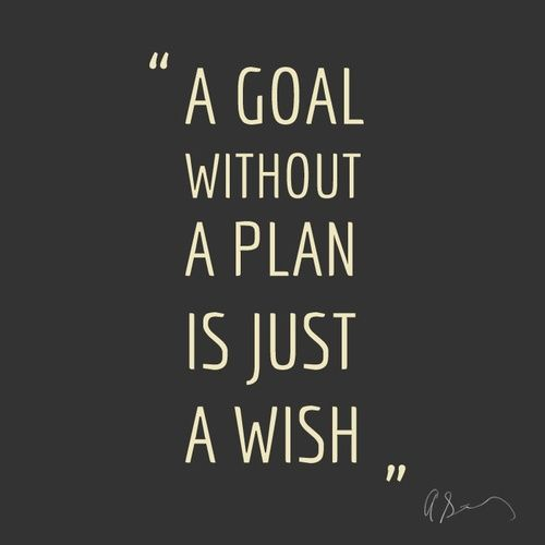 goal plan quote