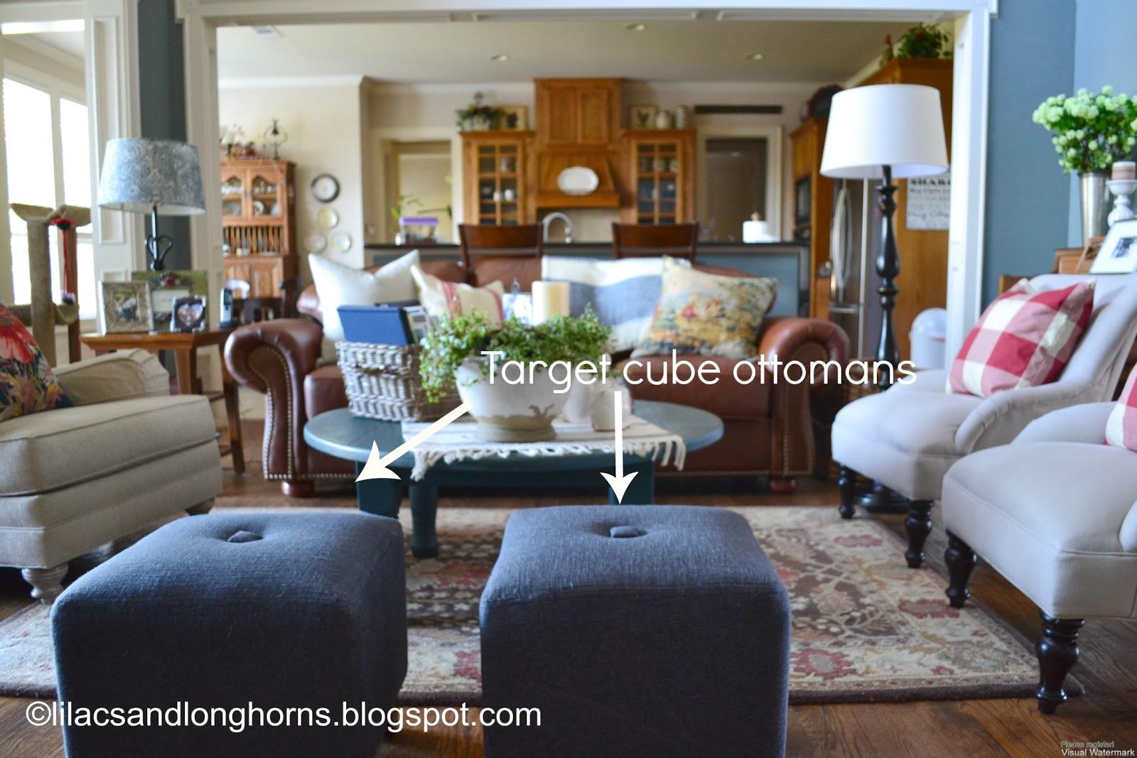 Fine I Did It Reupholstering Cube Ottomans Tutorial Lilacs Machost Co Dining Chair Design Ideas Machostcouk
