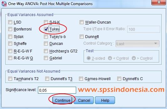 Cara Analisis Anova Satu Faktor dengan SPSS