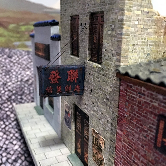 28mm Chinese Buildings for Warlord Era and WW2