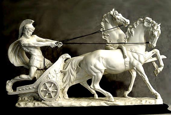 Auriga de A. Santini. El circo de Roma