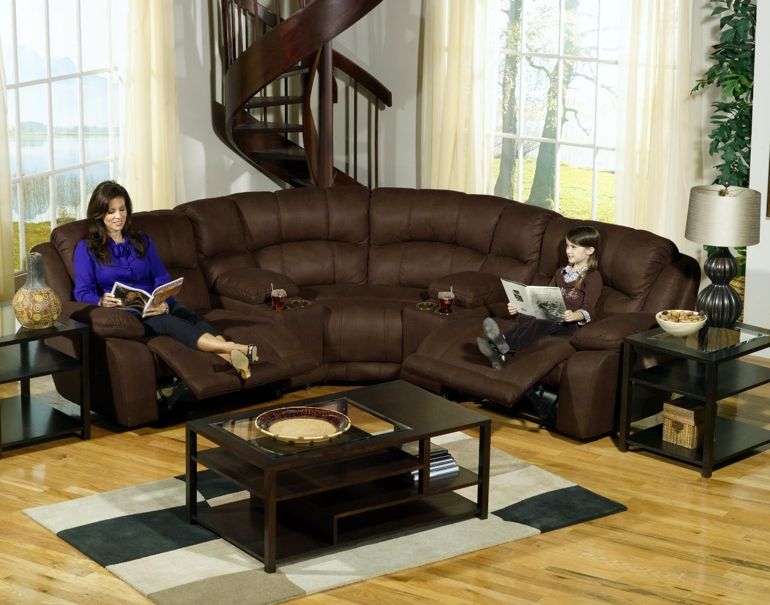 Compass Small Sectional