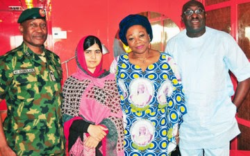 Malala in Abuja, Five Escaped Chibok Girls Join Protest