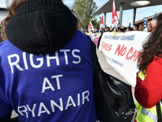 Thousands of travelers affected in Europe by Ryanair strike