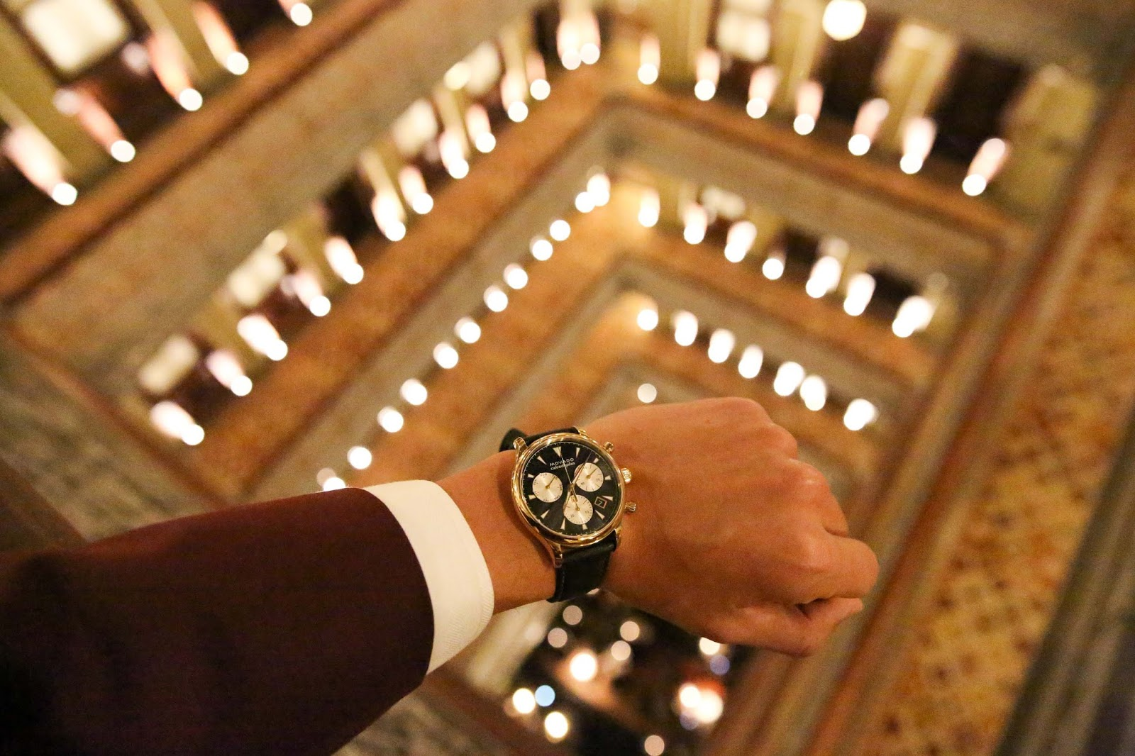 Levitate Style with Movado at the Beekman Hotel