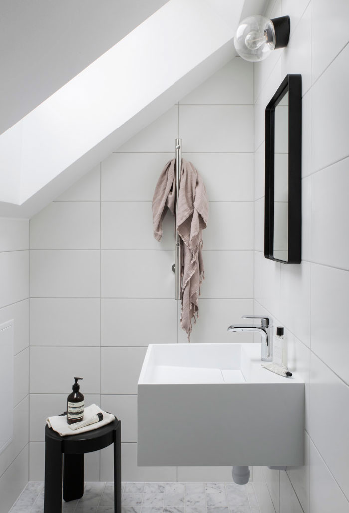 PUNTXET 30 metros cuadrados de elegancia y sencillez #deco #decoracion #decoration #hogar #home #loft #estilonordico #nordicstyle #estiloescandinavo #scandinavianstyle #bathroom #baño