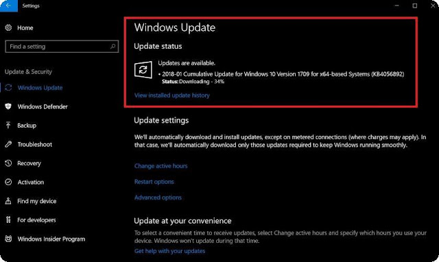 Settings-Windows-Updates