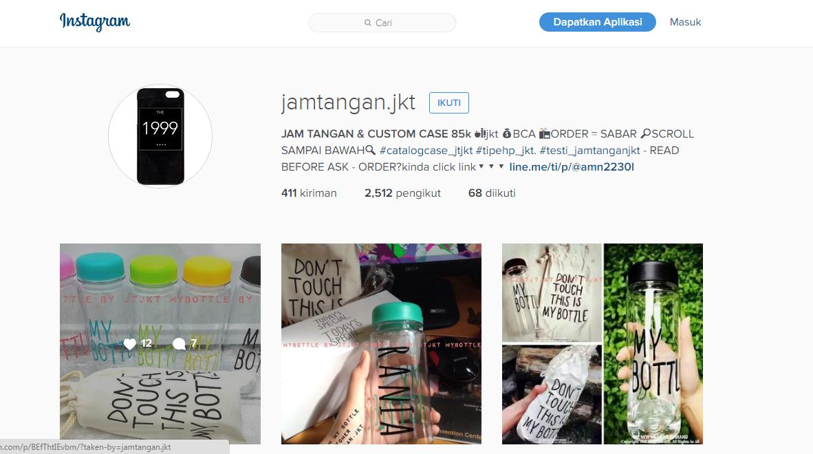 Online Shop Tipu Tipu Penipuan Di Instagram Ini Nama Online Shopnya