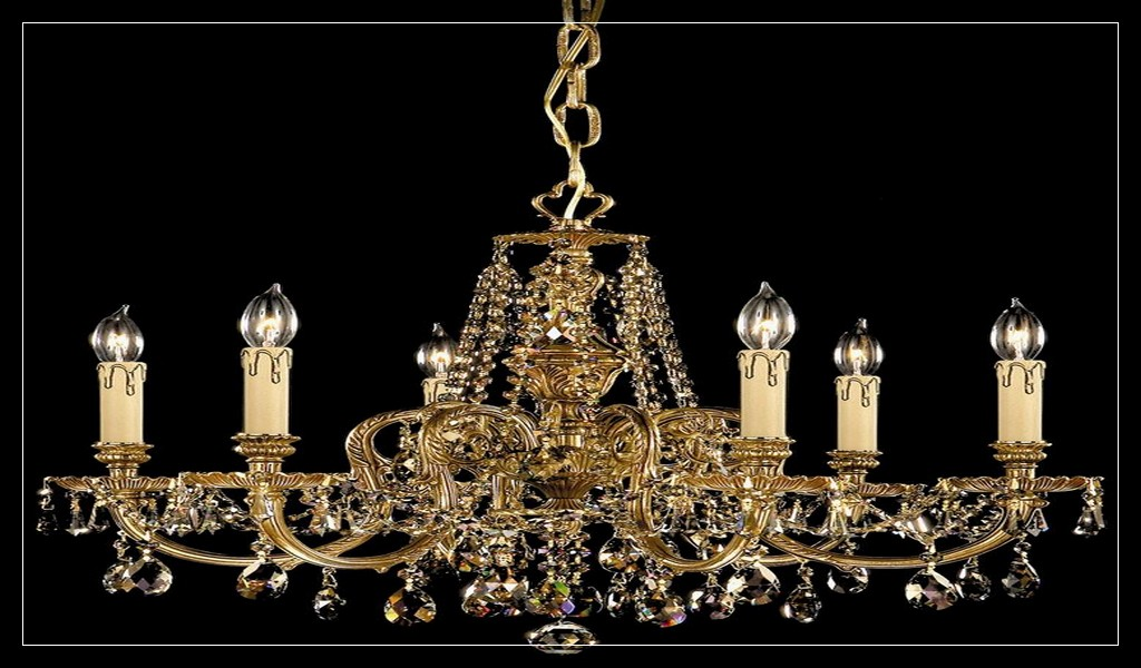 Alamande new 6 lights brass chandelier ideas - Antike schlafzimmermobel ...