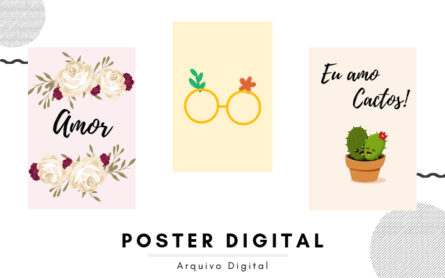 Produtos novos na loja do blog no elo7 - Arquivos digitais