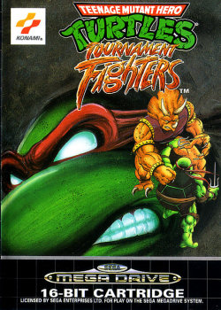 Mundo Retrogaming Teenage Mutant Ninja Turtles Tournament Fighters