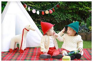 صور اطفال حلوين توائم