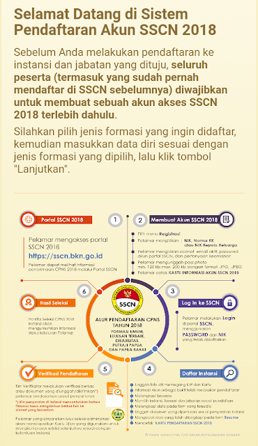 Petunjuk dan cara mendaftran cpns di sscn bkn
