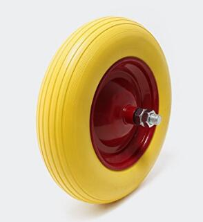 qingdao bestway industrial products co ltd roue compl te de brouette en polyur thane. Black Bedroom Furniture Sets. Home Design Ideas