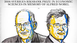 Prix Nobel d'économie 2016 Oliver Hart et Bengt Holmström