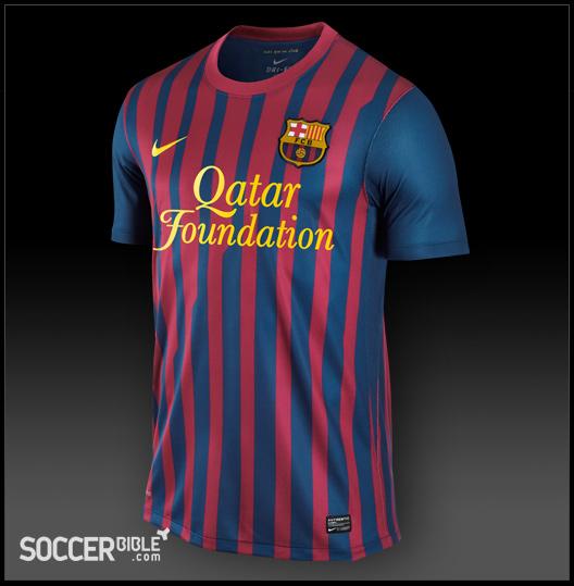f2a2a3cc8e4 Nike Football Shirt FC Barcelona Home Kit 2011-2012