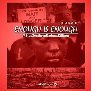 New Music: D.I.A FT. JR - Enough is Enough | @DIA_sirr