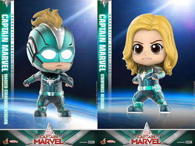 Captain Marvel Movie Marvel Cosbaby Series by Hot Toys