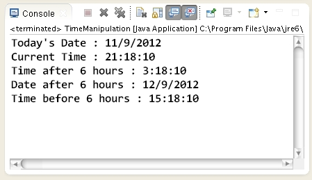 Subtract Hours From Date Time