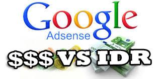 Perbedaan Google Adsense US VS IDR