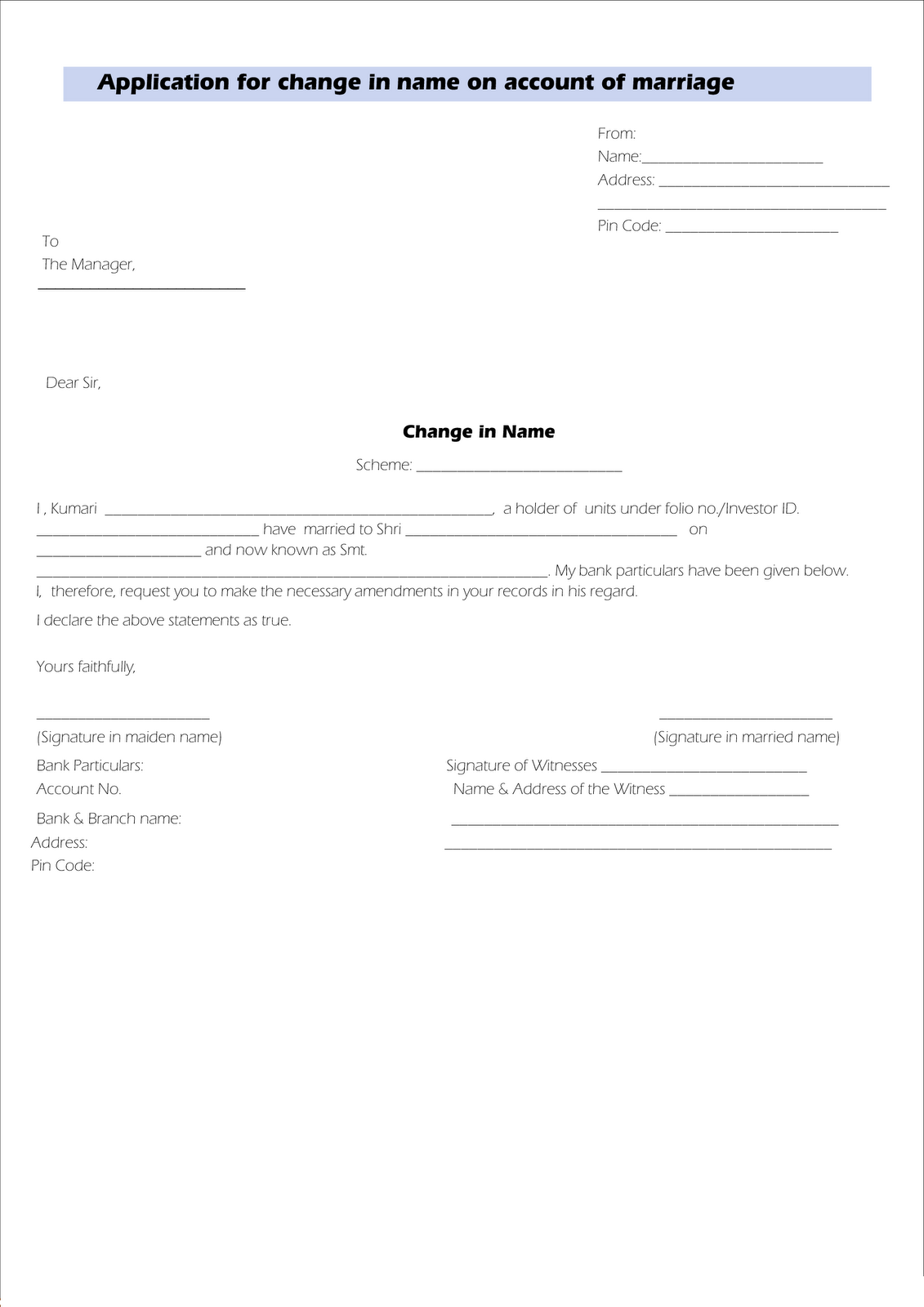 leave application form template – Format of Leave Application Form