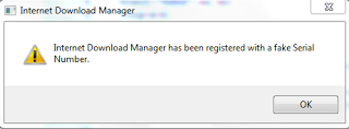 menghilangkan internet download manager fake serial number
