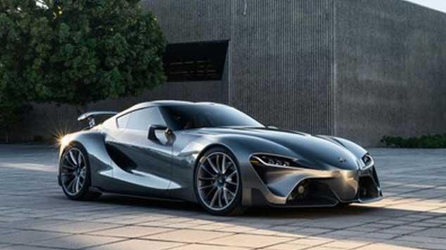 Mobil Sport Toyota Supra Terbaru Lakukan Test Uji Coba