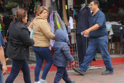 Emiten alerta meteorológica por entrada de frente frío en Sonora
