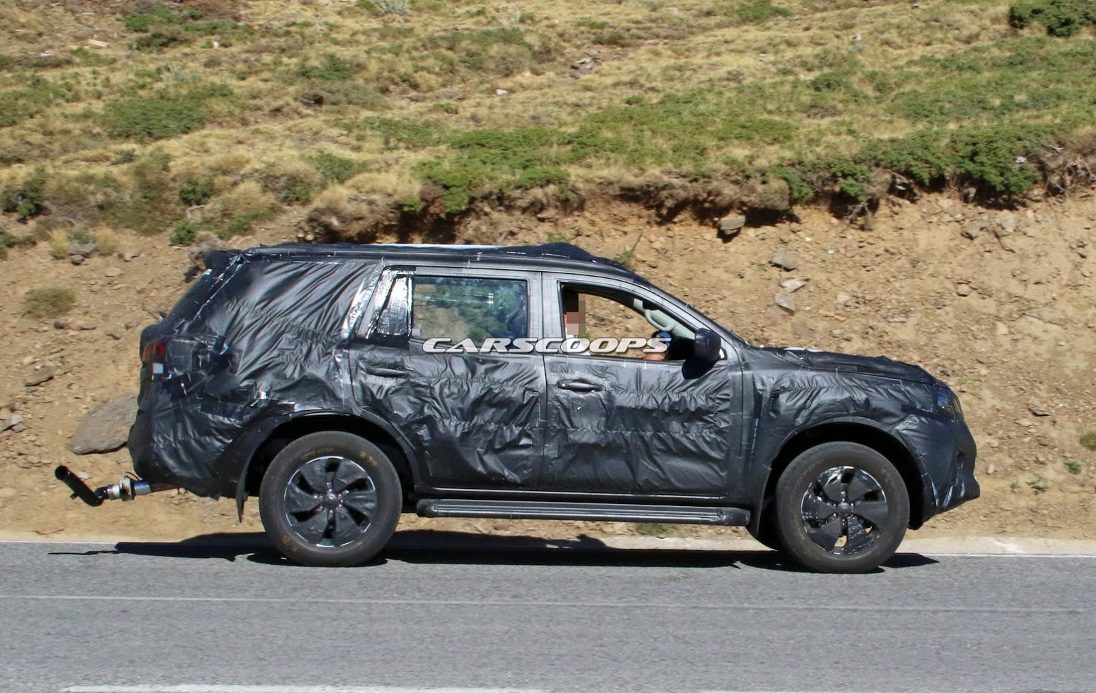 New Nissan Navara Based Suv Spied Could This Be The Next