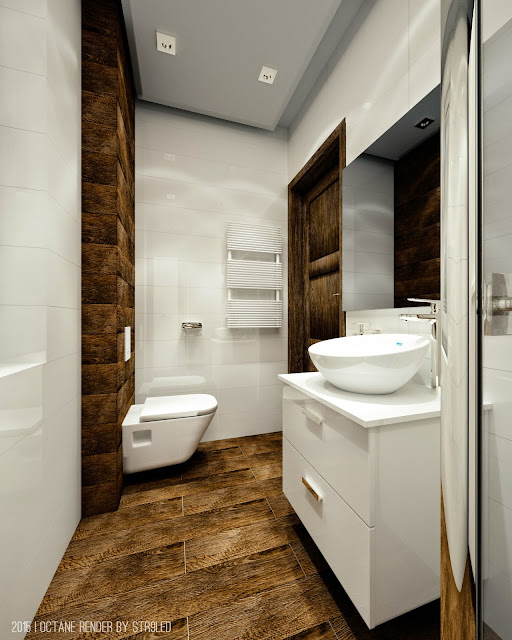 Bathroom Blender And Octane Render