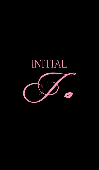 Initial J - Pink -