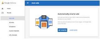 Cara Setting Auto Ads Adsense